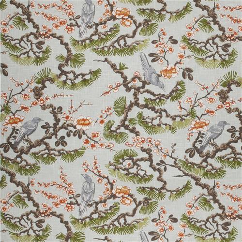 Vern Yip Gulfport Aqua Garden Fabric