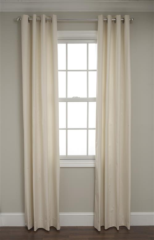 curtains thermal grommet insulated drapes top overlap panels