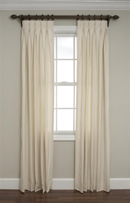 pleats in w white pinch n the window windsor drapes pleat curtains panel achim treatments b curtain marsala