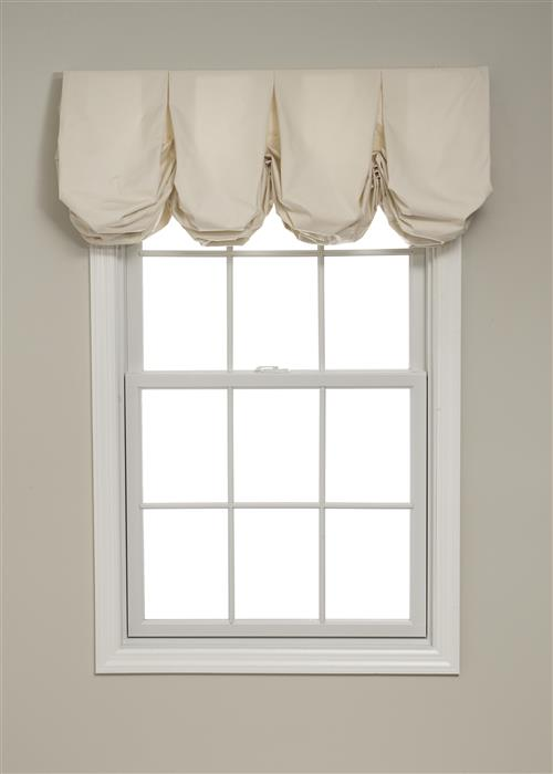 Calico Pleated Balloon Valances